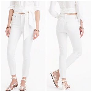 "J. Crew Petite 9"" Lookout High-rise Crop Jean NWT"